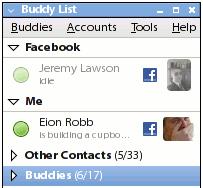 pidgin facebook chat
