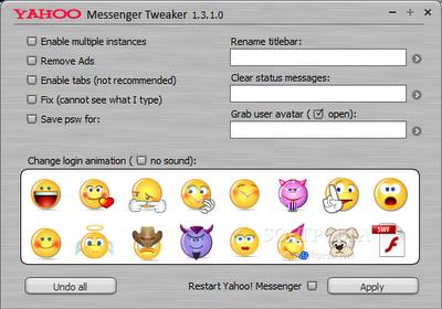 yahoo messenger tweaker 1